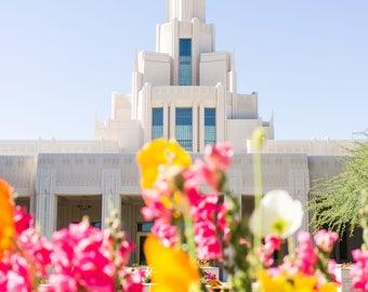 Phoenix Arizona Temple | Photography Print | Phoenix LDS temple | LDS temple photography