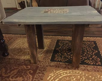 Home made end table