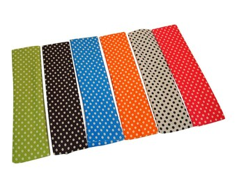 """NYLON HEADBANDS - 2"""" x 8"""" Nylon Headband.  These are perfect for HTV - personalize these to match any outfit or occasion"""