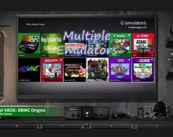 Modded Xbox 35,000+ Games 250GB N64, NES, SNES, Atari, Sega, Genesis, Game Boy, PC Engine, Arcade Better than Retropie Raspberry Pi