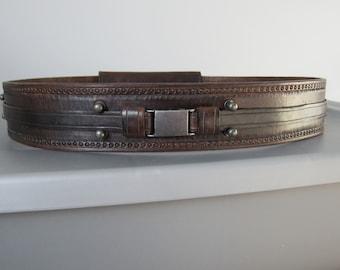 Hand Made Leather Star Wars Jedi Belt.