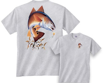 Redfish Going for Lure Fishing T-Shirt