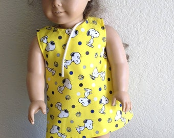 """Dress Made to fit 18"""" Dolls Such as American Girl Item #49"""