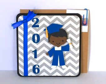 Graduation Greeting Card - Graduation Card Boy - Graduation Gift Card - Handmade Graduation Card - College Graduation High School Graduation