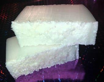 Coconut soap slice - medium