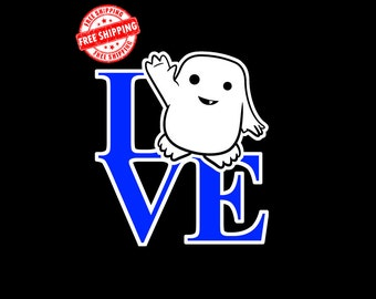 Adipose, Doctor Who, Dr Who, Tardis, Vinyl Decal, Bumper Sticker, Decals, Stickers, Sci-Fy, Sci Fy, Window, Car, Gifts