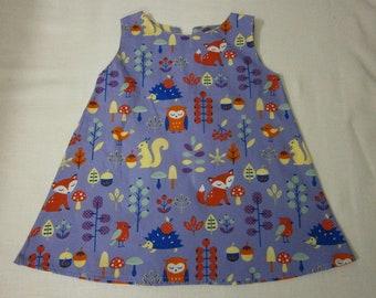 DRESS 3/6 months - unique-100% cotton