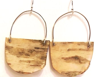 Hand Crafted Wooden Earrings