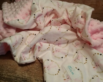 cover, bedding, quilt, crib, crib, baby, child, daughter, blanket, minky, cotton, rabbits, birth, small bouquet gift