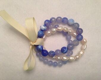 Bracelet Bundle - Soft Blue Hues Theme