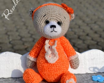 Crochet bear Michelle, Amigurumi, Teddy bear, Teddy, gift idea