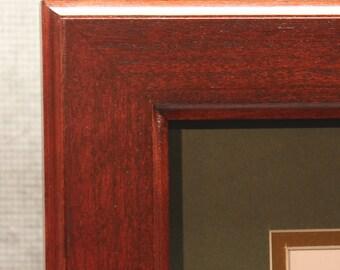 8 1/2 x 11 Double Diploma Frame, Beautiful Office Decor, Graduation Gift