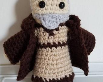 Star Wars Inspired Obi-wan Kenobi Crochet Plush