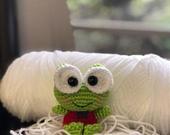 Amigurumi Keroppi , Handmade Crochet Toy