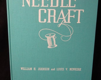 "Vintage 1942 Hobbycraft Series ""Needlcraft"" Webb Book Publishing Company"