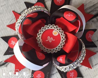 Crowned Muser Hair Bow