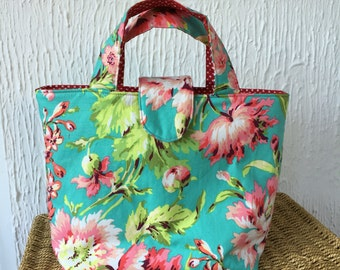 Amy Butler Love Bliss Bouquet reversible tote