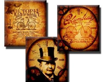 Time Travel Motion collage sheet - 0.83 x 0.75 Scrabble tile size