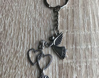 Eternal love keyring