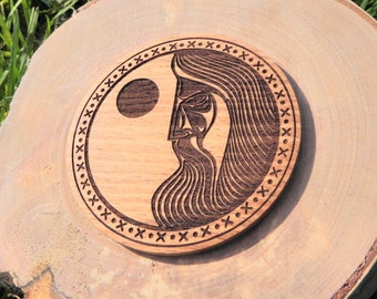 Magic Board or Magnet for home  Sun Odin, Vikings