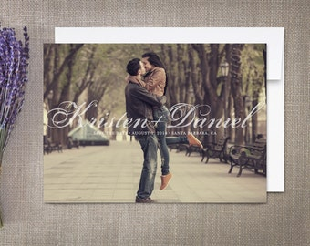 Save the Date Cards, Script Names