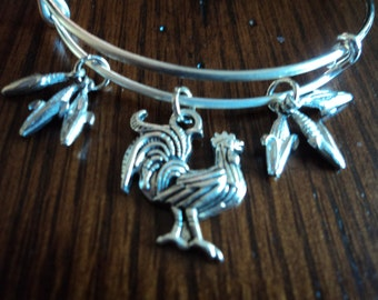 rooster  bangle
