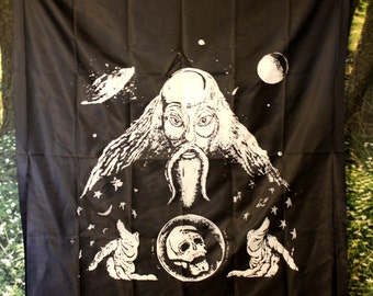 90's SPACE WIZARD Tapestry