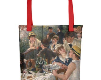 Pierre-Auguste Renoir, Luncheon of the Boating Party - Tote bag