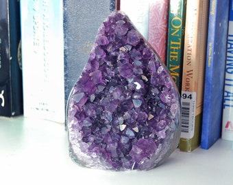 Amethyst Crystal   Recovery Gift   Amethyst Geode   Amethyst Cluster   Raw Amethyst   February Birthstone   Meditation Psychic Use