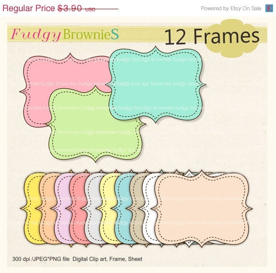 ON SALE Digital frame square frames colour frame digital