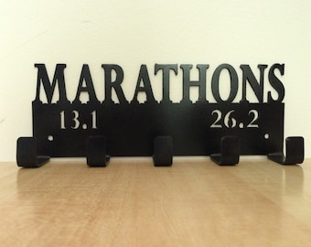 Marathon medal display holder