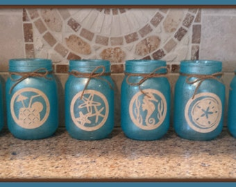 Summer Beach Jars