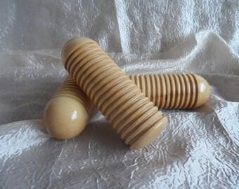 Wooden wet felting tool, Felting Roller