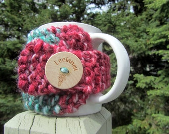 Leelanau Up North Michigan Coffee Cup Cozy - Perfect for Gift Giving or Keeping and Environmentally Friendly