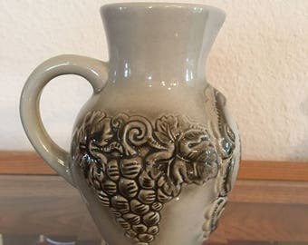King German Stoneware Pitcher