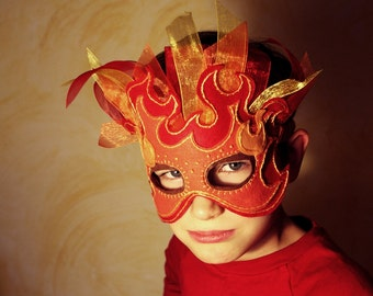 Fire Mask PDF Pattern