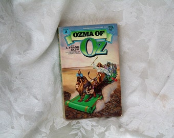 """Relisted / On Sale! 1984 """"Ozma of Oz"""" by L. Frank Baum!  Has Original John R. Neill B&W Illustrations!  Del Ray Paperback!  Hard to Find!!"""