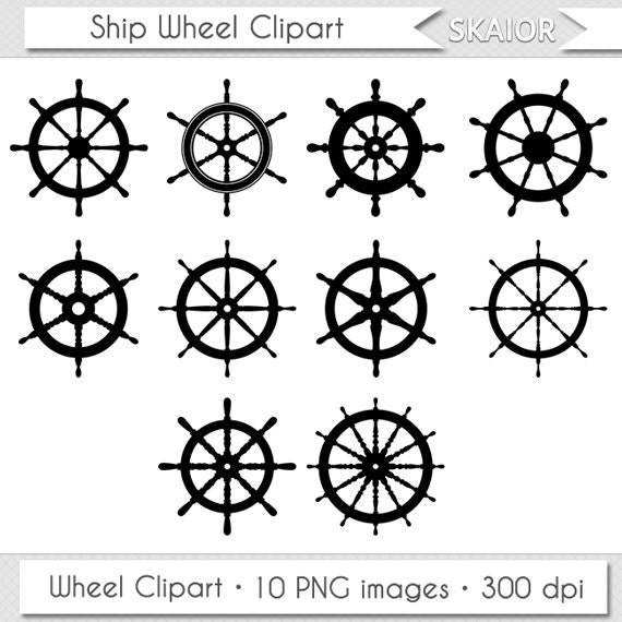 Items similar to ship wheel clipart helm clipart vector wheel clip items similar to ship wheel clipart helm clipart vector wheel clip art nautical clipart steampunk digital scrapbooking invitations logo silhouette sea boat ccuart Choice Image