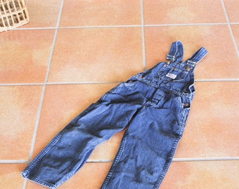 Vintage 70s Denim Overalls | 4 - 5 Years Overalls