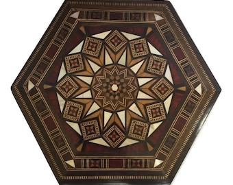 Wooden Jewelry Box, Multipurpose Storage Wooden Box, Home Decor, trinket box, mosaic box, wood inlay art, mother of pearl box, jewelry box