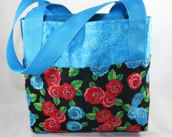 Organizing Bag ~ Blue Roses