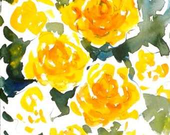 Fresh Pick No.197, 11x15, original watercolor