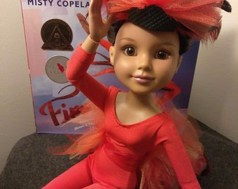 Tribute to Misty Copeland's Firebird Ballet, includes brand new BFC Ink Doll (Aliesha)