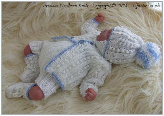 Baby Knitting Patterns Newborn Baby Boys Knitting Pattern