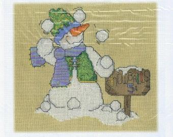 CM Designs Snowball Sale Cross Stitch Pattern