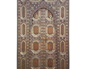 Amazing Fez Door All Inlaid
