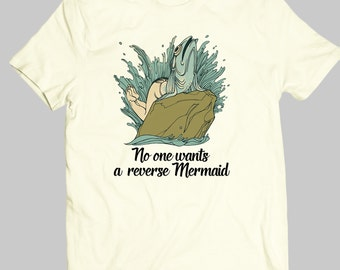 Mermaid - No one wants a reverse Mermaid- Quote- QNT-014-Perfcase