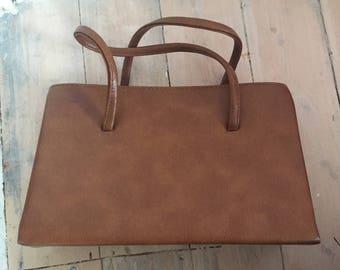 Vintage Tan Kelly Bag
