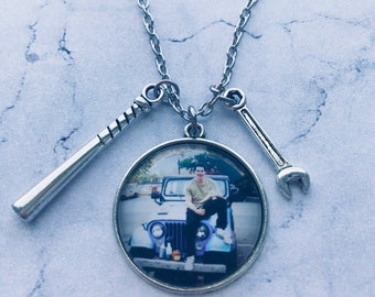 Stiles Stilinski necklace, Teen wolf jewelry