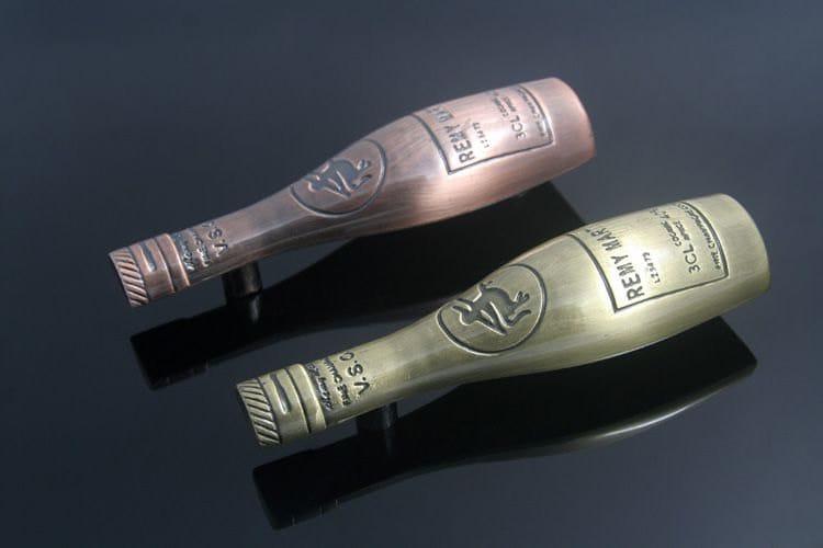 2.5u0027u0027 Kitchen Cabinet Handles Pulls Knobs Bar Wine Bottle Antique Bronze  Copper Unique Drawer Pull Handles Knob Dresser Pull Decorative 64mm